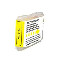 Compatible inkjet cartridge for Brother LC51Y - yellow