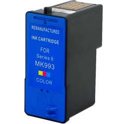 Remanufactured Dell MK993 / MK991 (Series 9) inkjet cartridge - high capacity color