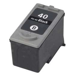 Remanufactured Canon PG-40 inkjet cartridge - black