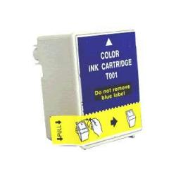 Remanufactured Epson T001011 inkjet cartridge - photo