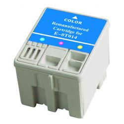 Remanufactured Epson T014201 inkjet cartridge - color