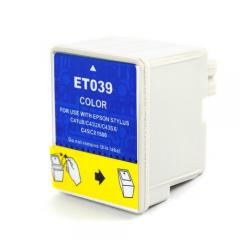 Remanufactured Epson T039020 inkjet cartridge - color