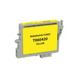 Remanufactured Epson T060420 (60) inkjet cartridge - yellow