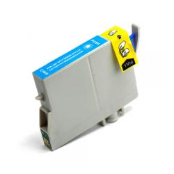 Remanufactured Epson T063220 inkjet cartridge - cyan