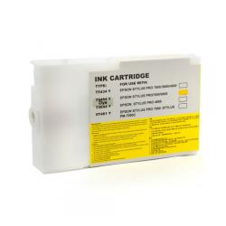 Compatible inkjet cartridge for Epson T545400 - yellow