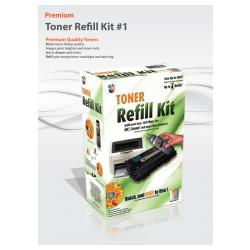 Uni-Kit Toner Refill Kit for Brother TN-540 / TN-570