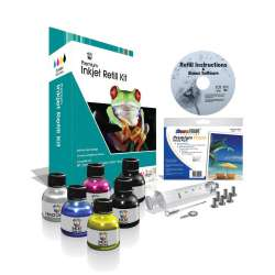 Uni-Kit Inkjet Refill Kit - 4 Color - Black, Color