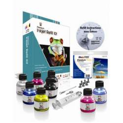 Uni-Kit Inkjet Refill Kit - 6 Color - Black, Color, Photo