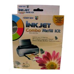 Uni-Kit Inkjet Refill Kit - 4 Color Value Pack