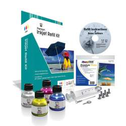 Uni-Kit Inkjet Refill Kit - Color - Cyan, Magenta, Yellow
