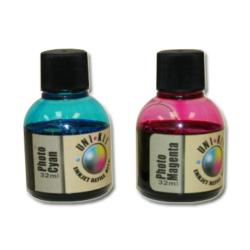 Uni-Kit Inkjet Refill Kit - Photo - Light Cyan, Light Magenta