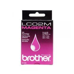 Original Brother LC02M inkjet cartridge - magenta