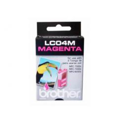Original Brother LC04M inkjet cartridge - magenta