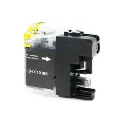Compatible inkjet cartridge for Brother LC103BK / LC101BK - high yield black