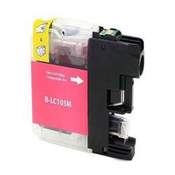 Compatible inkjet cartridge for Brother LC103M / LC101M - high yield magenta