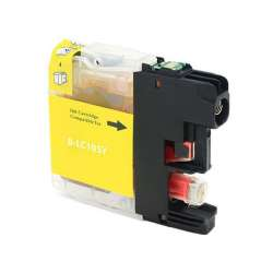 Compatible inkjet cartridge for Brother LC103Y / LC101Y - high yield yellow