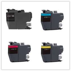 Compatible inkjet cartridges Multipack for Brother LC3017 - 4 pack