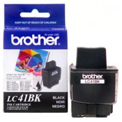 Original Brother LC41BK inkjet cartridge - black