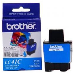 Original Brother LC41C inkjet cartridge - cyan