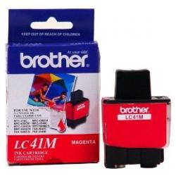 Original Brother LC41M inkjet cartridge - magenta
