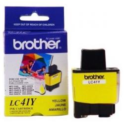 Original Brother LC41Y inkjet cartridge - yellow