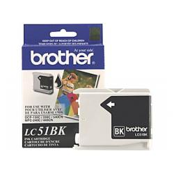 Original Brother LC51BK inkjet cartridge - black