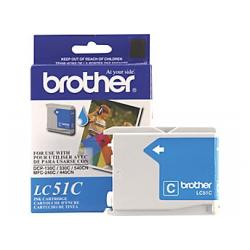 Original Brother LC51C inkjet cartridge - cyan