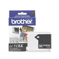 Original Brother LC51HYBK inkjet cartridge - black