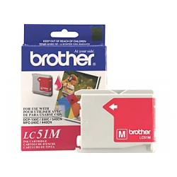 Original Brother LC51M inkjet cartridge - magenta