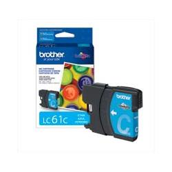 Original Brother LC61C inkjet cartridge - cyan