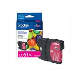 Original Brother LC61M inkjet cartridge - magenta
