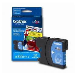 Original Brother LC65C inkjet cartridge - cyan