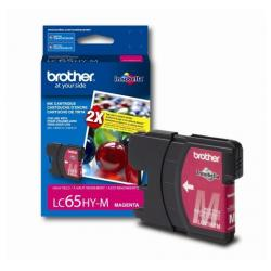 Original Brother LC65M inkjet cartridge - magenta