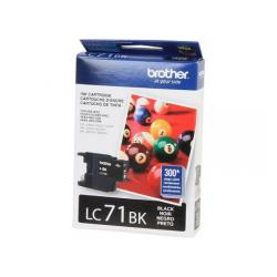 Original Brother LC71BK inkjet cartridge - black