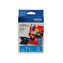 Original Brother LC71C inkjet cartridge - cyan