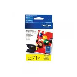 Original Brother LC71Y inkjet cartridge - yellow