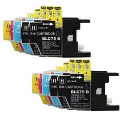 Compatible inkjet cartridges Multipack for Brother LC75 / LC71 - 10 pack