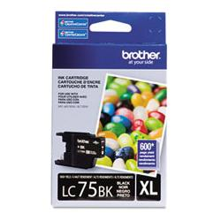 Original Brother LC75BK inkjet cartridge - black