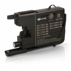 Compatible inkjet cartridge for Brother LC75BK - black