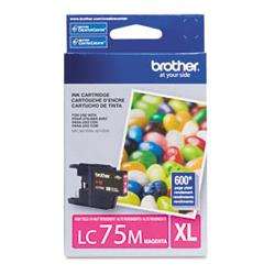 Original Brother LC75M inkjet cartridge - magenta