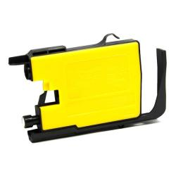 Compatible inkjet cartridge for Brother LC75Y - yellow