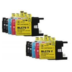 Compatible inkjet cartridges Multipack for Brother LC79 - 10 pack