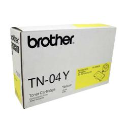 Original Brother TN04Y toner cartridge - yellow