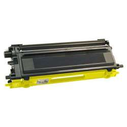 Compatible Brother TN115Y toner cartridge - high capacity yellow