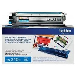 Original Brother TN210C toner cartridge - cyan