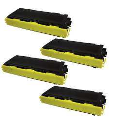 Compatible Brother TN350 toner cartridges - black - 4-pack