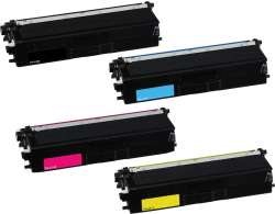 Compatible Brother TN431BK / TN431C / TN431M / TN431Y toner cartridges - 4-pack