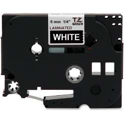 Compatible label tape for Brother TZe-315 - white on black