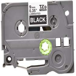 Compatible label tape for Brother TZe-325 - white on black