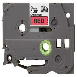 Compatible label tape for Brother TZe-421 - black on red